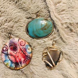 3 pendants